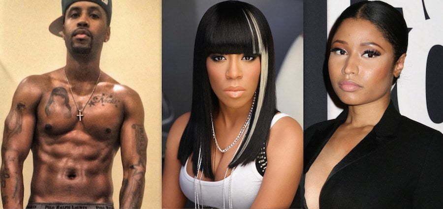 Safaree K Michelle and Nicki Minaj