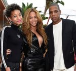 Willow Smith Beyonce and Jay Z