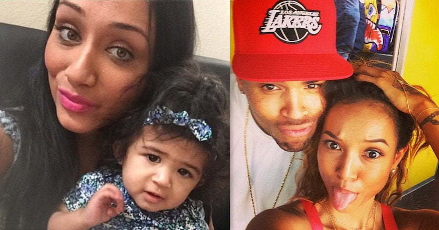 Chris Brown baby and Karrueche Tran