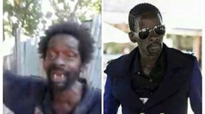 Gully Bop before and after