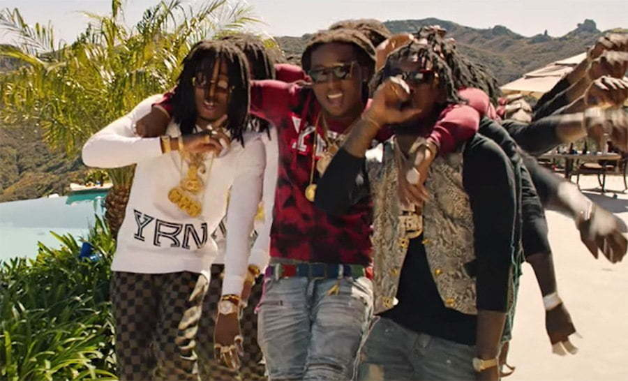 Migos One Time video