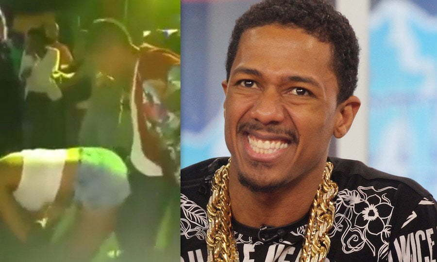 Nick Cannon in Jamaica