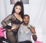 Nicki Minaj and Meek Mill in Paris
