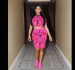 Nicki Minaj pink dress