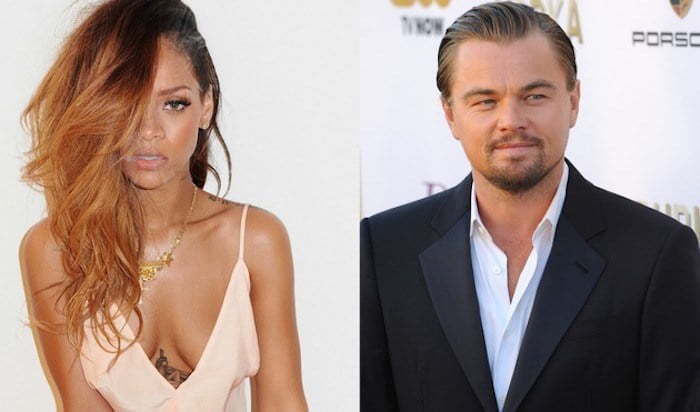 Rihanna and DiCaprio