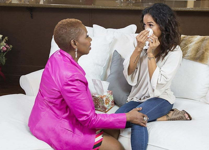 iyanla and karrueche Tran interview
