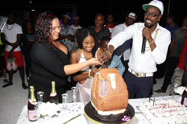 Beenie Man and Carlene daughter borthday party