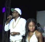 Beenie Man and Daughter Crystal
