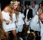 Beyonce at Tina Knowles Richard wedding