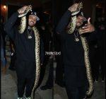 Chris Brown at Travis Scott birthday party