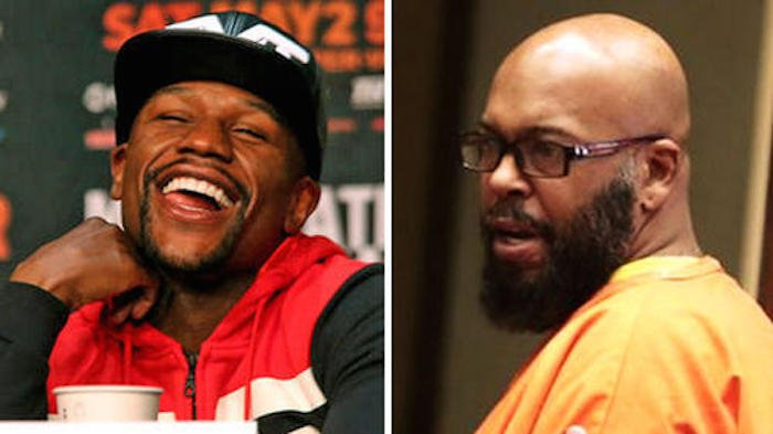 Floyd Mayweather and Suge Knight
