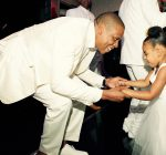 Jay Z and Bkue Ivy Tina wedding