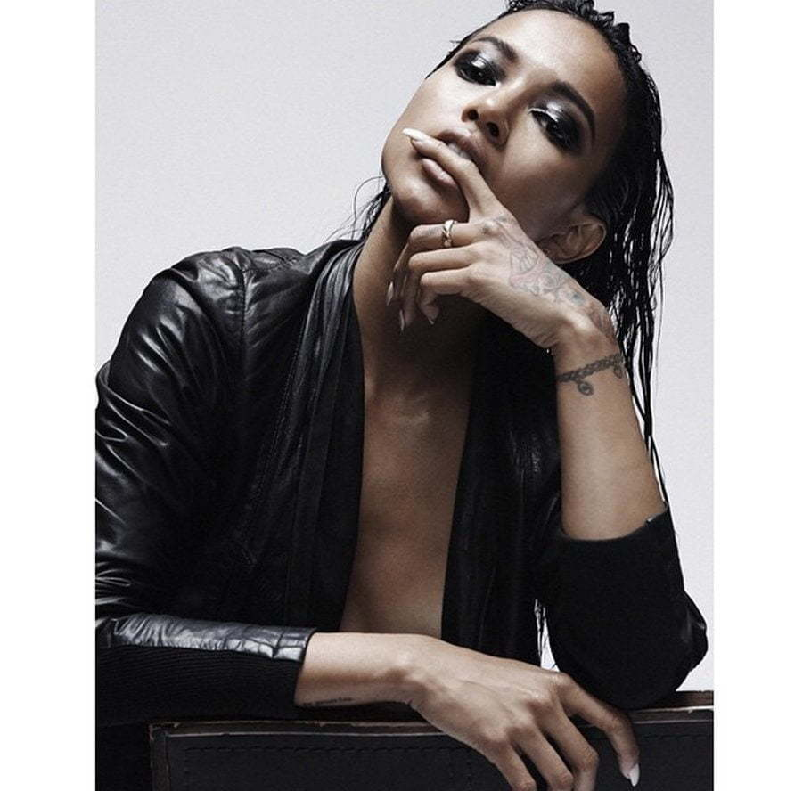 Karrueche Tran modeling photo
