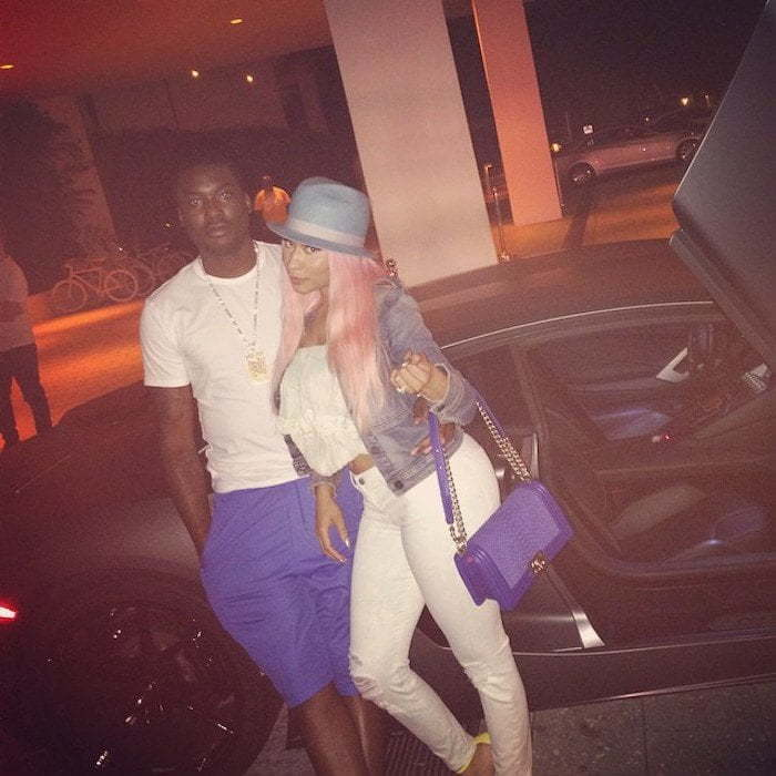 Meek Mill and Nicki Minaj in Miami