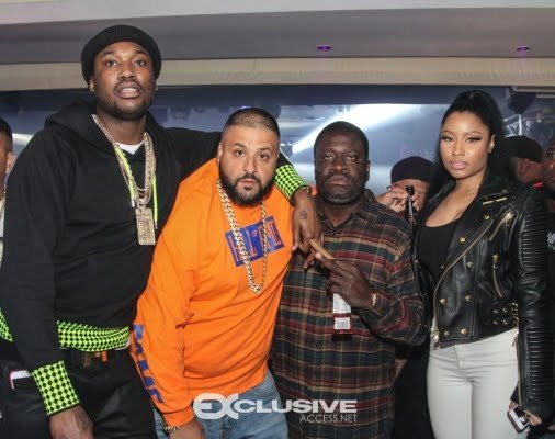 nicki minaj meek mill and khloe and french montana double