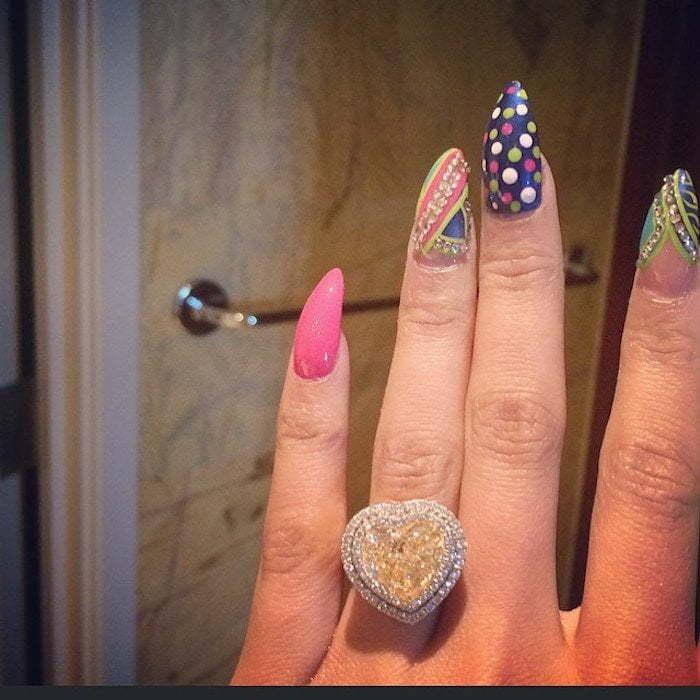 Nicki Minaj Meek Mill engagement ring
