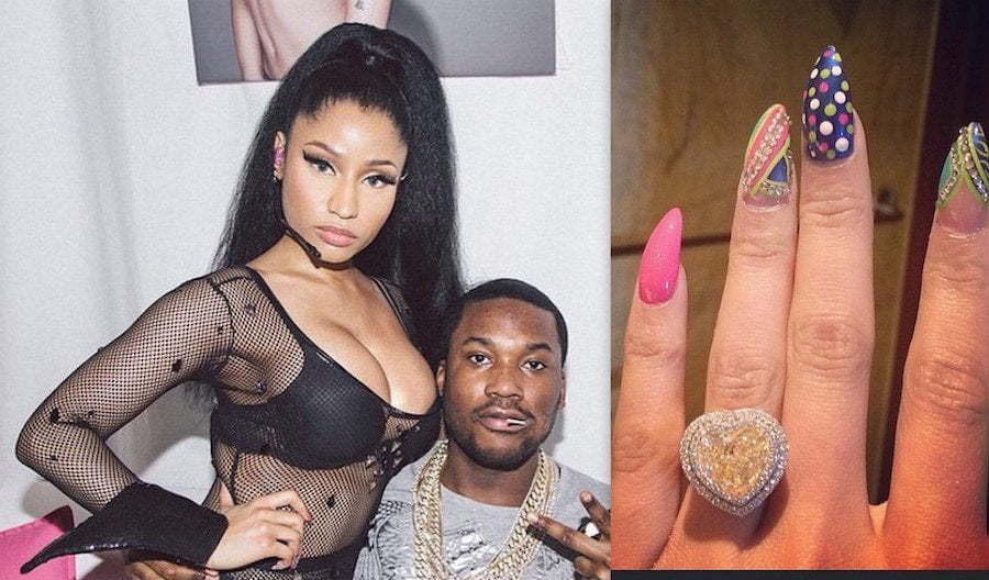 Nicki Minaj and Meek Mill engaged