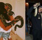 Rihanna Chris Brown at Travis Scott birthday party