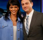 Rihanna and Jimmy Kimmel