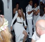 Tina Knowles Richard Lawson wedding