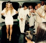 Tina Knowles Richard wedding Beyonce dancing