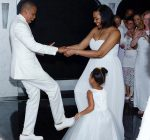 Tina Knowles Richard wedding Jay Z