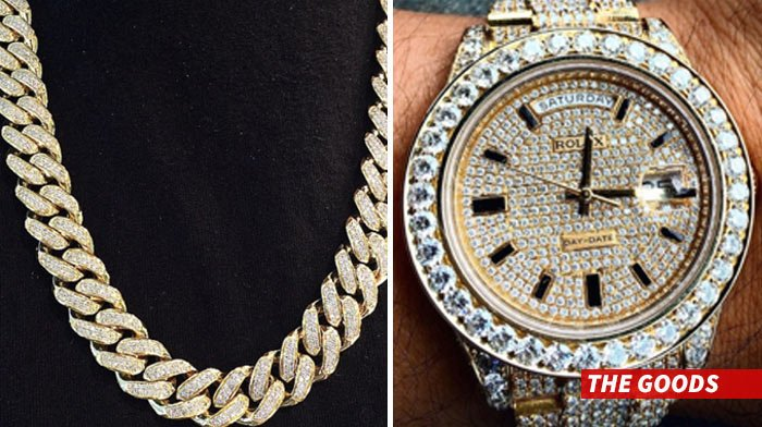 50 Cent jewelry robbed