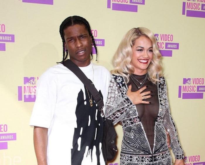 ASAP Rocky and Rita Ora