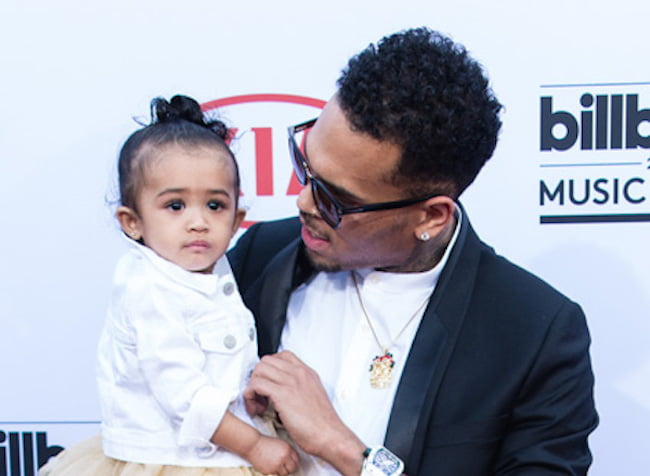 Chris Brown And Royalty Red Carpet