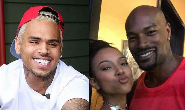 Chris Brown And Tyson Beckford Beefing Over Karrueche Tran