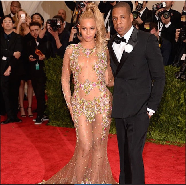 MET Gala 2015 Beyonce and Jay Z