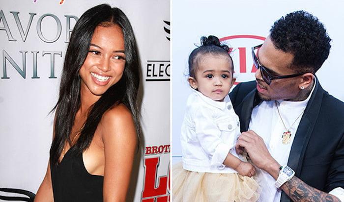 Karrueche Tran Royalty and Chris Brown