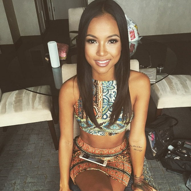 Karrueche birthday
