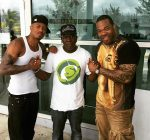 Nick Cannon Barrington Levy and Busta Rhymes