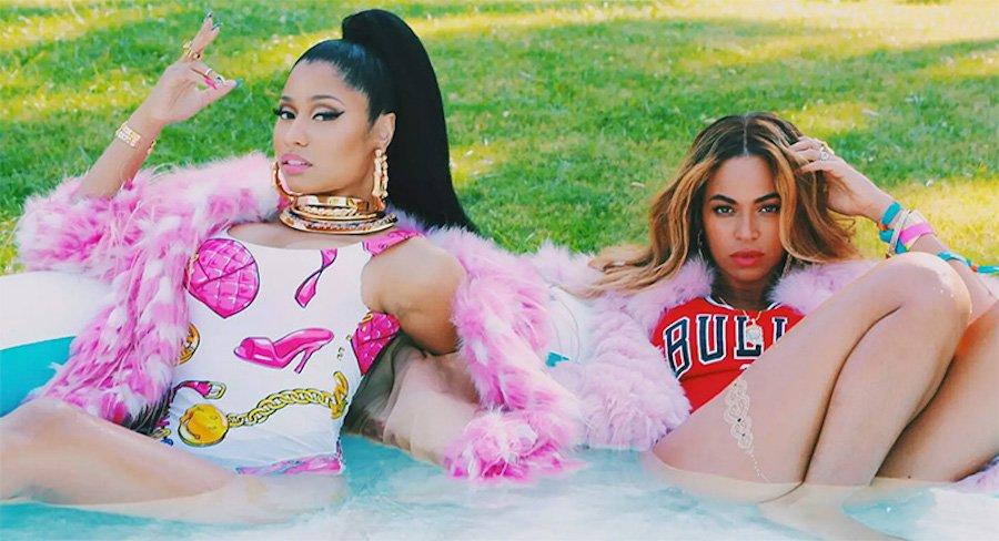 Nicki Minaj Beyonce Feeling Myself video