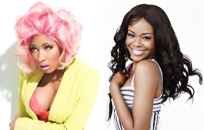 Nicki Minaj and Azalea Banks beef
