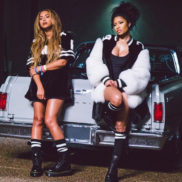 Nicki Minaj and Beyonce on fleek
