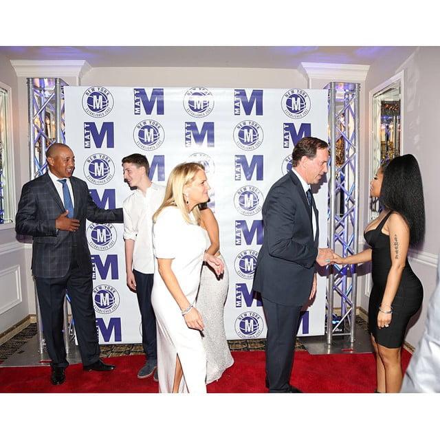 Nicki Minaj at Matt Bar Mitzvah