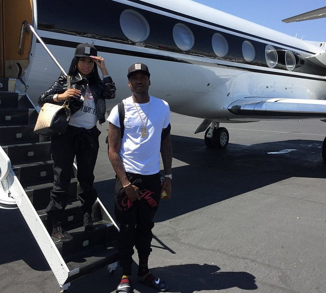 Nicki and Meek private jet