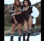 Nicki and Queen Bey