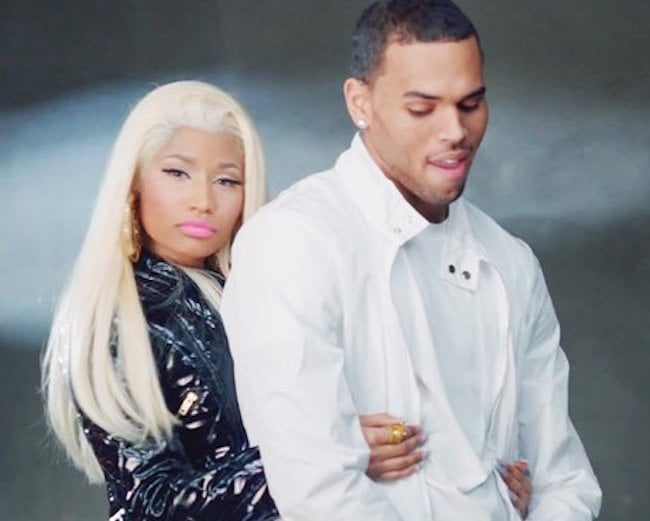 Nikci Minaj and Chris Brown