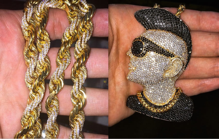 Sean Paul custom jewelry