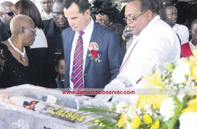 Toya funeral