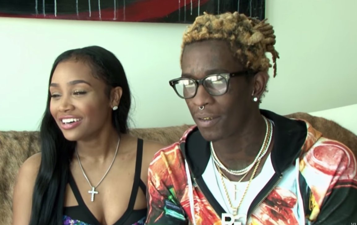 Young Thug and fiance Jerrika Karlae