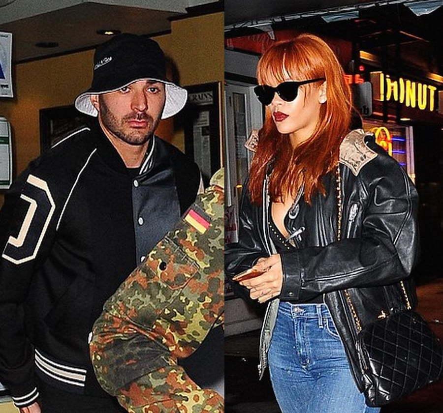 Benzema and Rihanna dating