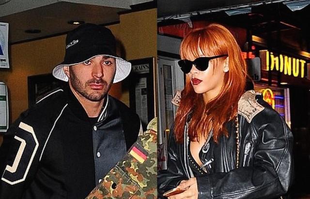 Rihanna And Real Madrid Star Karim Benzema Couple Up
