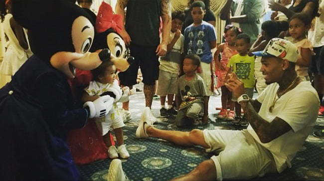 Chris Brown Royalty Disney Land
