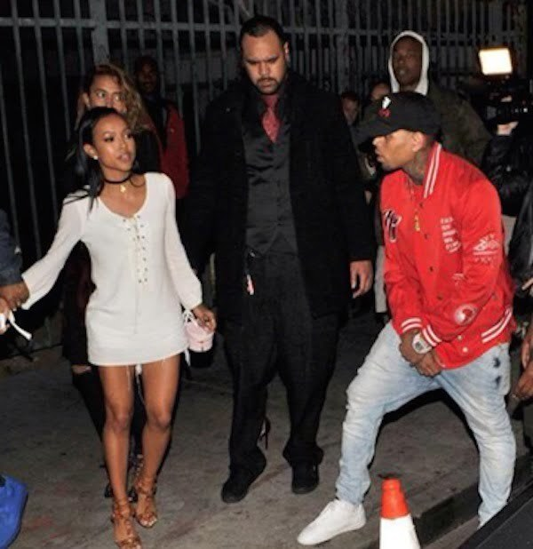 Karrueche Chris brown fight