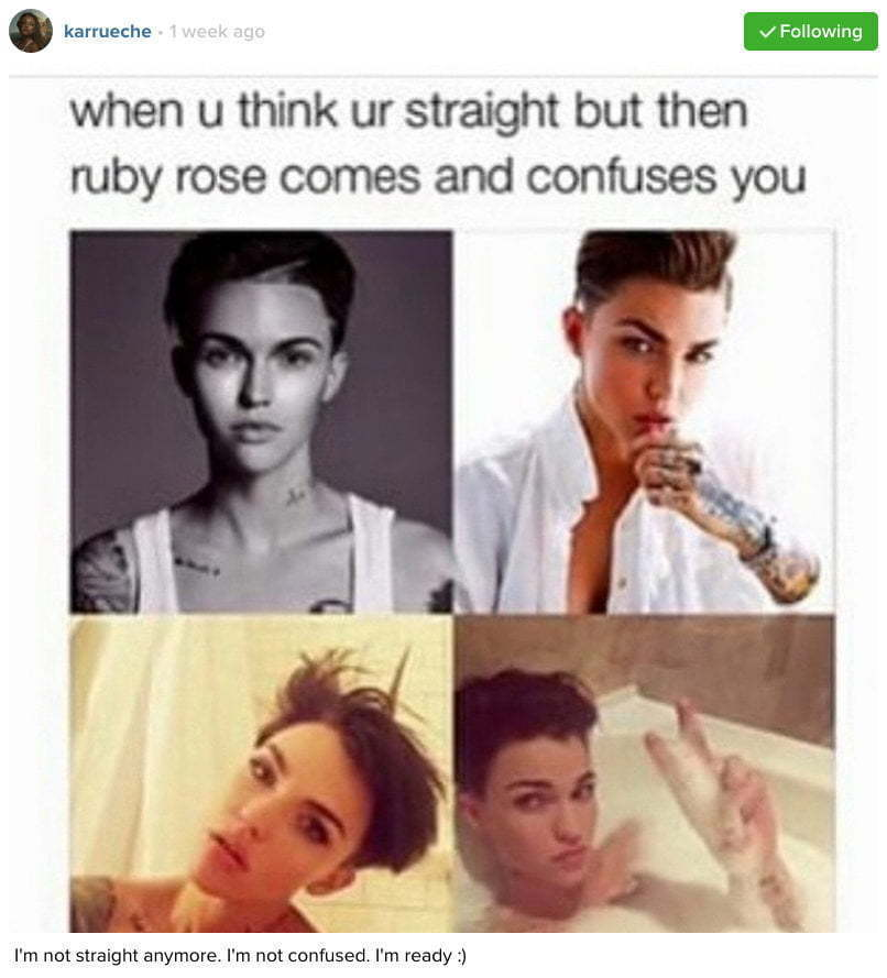 Karrueche Ruby Rose IG