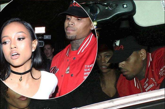 Karrueche Tran And Rihanna Physical Fight Chris Brown Calls Karr...